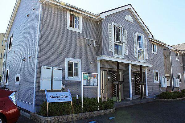 メゾンリーブルA・B 1階の賃貸【広島県 / 福山市】
