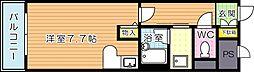 ライオンズマンション黒崎(分譲賃貸)[6階]の間取り