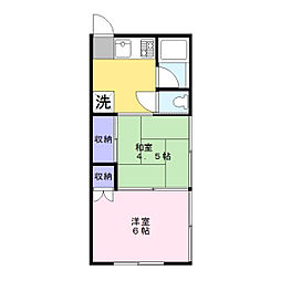 野見荘[2階]の間取り