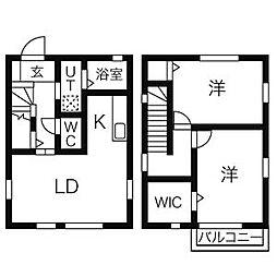 [一戸建] 神奈川県茅ヶ崎市美住町 の賃貸【/】の間取り