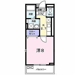 ウインズコート[2階]の間取り