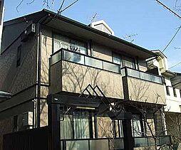 京都府京都市左京区北白川久保田町の賃貸アパートの外観