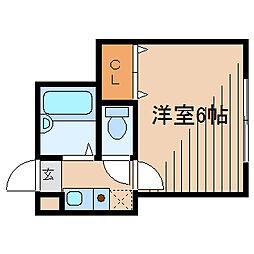 ロッシェル2番館3号棟[3階]の間取り