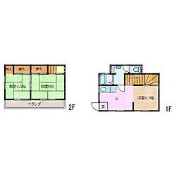 島藤アパート[2階]の間取り