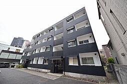 東京都港区六本木7丁目の賃貸マンションの外観