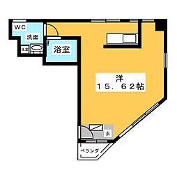 KAKOビル[3階]の間取り