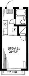 シャトル東蒲田[1階]の間取り