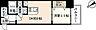 間取り,1LDK,面積30m2,賃料6.9万円,バス 鶴見橋下車 徒歩4分,広島電鉄5系統 比治山橋駅 徒歩9分,広島県広島市中区鶴見町