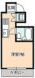 タクビル1[4階]の間取り
