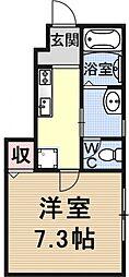 仮称)椥辻草海道町ハイツ[101号室号室]の間取り