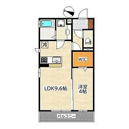 仙台市営南北線 北四番丁駅 徒歩19分の賃貸アパート 1階1LDKの間取り