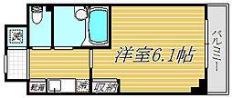グレース早稲田[2階]の間取り