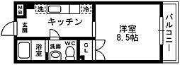 東京都板橋区成増4丁目の賃貸マンションの間取り