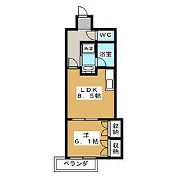 メゾン・トアン[2階]の間取り