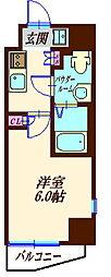 S−RESIDENCE妙蓮寺 1階1Kの間取り