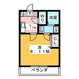 リブレア桜台[2階]の間取り