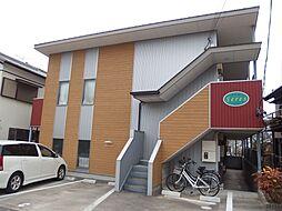 愛知県岡崎市中町2丁目の賃貸アパートの外観