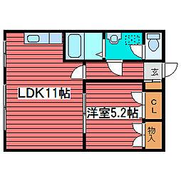 トキワ[2階]の間取り