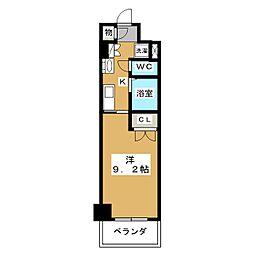 HF久屋大通レジデンス[8階]の間取り