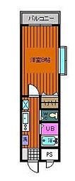 千葉県市川市妙典6丁目の賃貸マンションの間取り