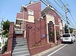 千葉県松戸市二ツ木の賃貸アパートの外観