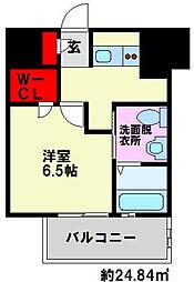 エスフォート高宮[2階]の間取り