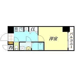 クレアート北大阪レヴァンテ[3階]の間取り