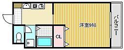 メルベーユ伊勢[2階]の間取り