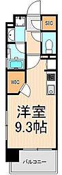 ザ・グランデレガーロ浅草[7階]の間取り
