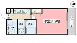 コーポ伊藤[102号室]の間取り