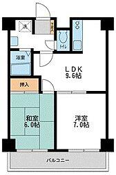 プロフィットリンク竹ノ塚[2階]の間取り