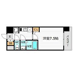 リッツ桜宮パークフロント[9階]の間取り
