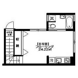 SOLA Court[B号室]の間取り