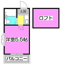 LH本町[2階]の間取り
