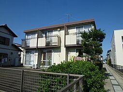 静岡県浜松市中区上島2丁目の賃貸アパートの外観