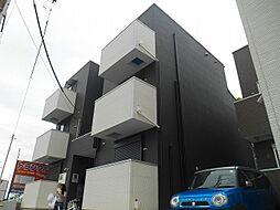 東京都立川市柴崎町5丁目の賃貸アパートの外観