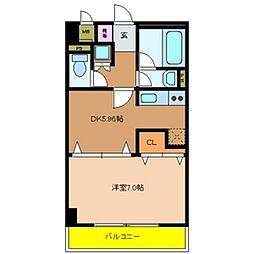メゾン・ド・成屋大阪[3階]の間取り