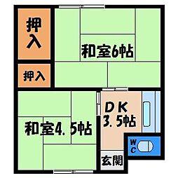 たまや荘[2階]の間取り