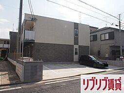 千葉県千葉市中央区道場南1丁目の賃貸アパートの外観