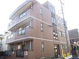 神奈川県川崎市中原区苅宿の賃貸マンションの外観