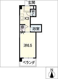 サード・サワータウン[3階]の間取り