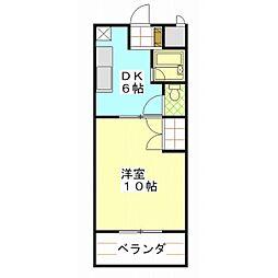 COSMO439[00208号室]の間取り
