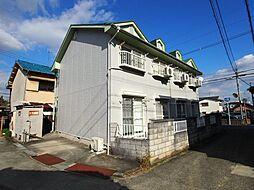 大阪府大阪狭山市池尻中1丁目の賃貸アパートの外観