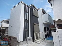 兵庫県明石市大観町の賃貸アパートの外観