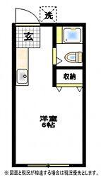 ヒルサイド21[1階]の間取り