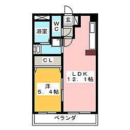 ドルフNT[3階]の間取り