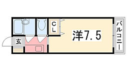 メゾン立花[206号室]の間取り