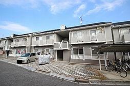 広島県安芸郡府中町みくまり3丁目の賃貸アパートの外観