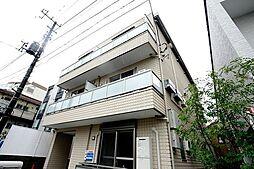 東京都中野区新井5丁目の賃貸アパートの外観