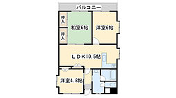 共立ビル No17[11階]の間取り